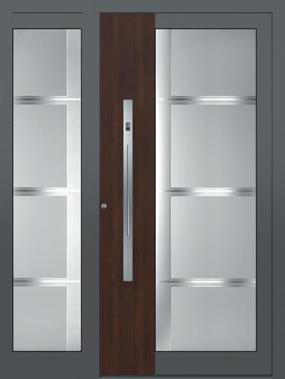 drzwi aluminiowe, drzwi premium, drzwi ciepłe, drzwi aluminiowe pasywne